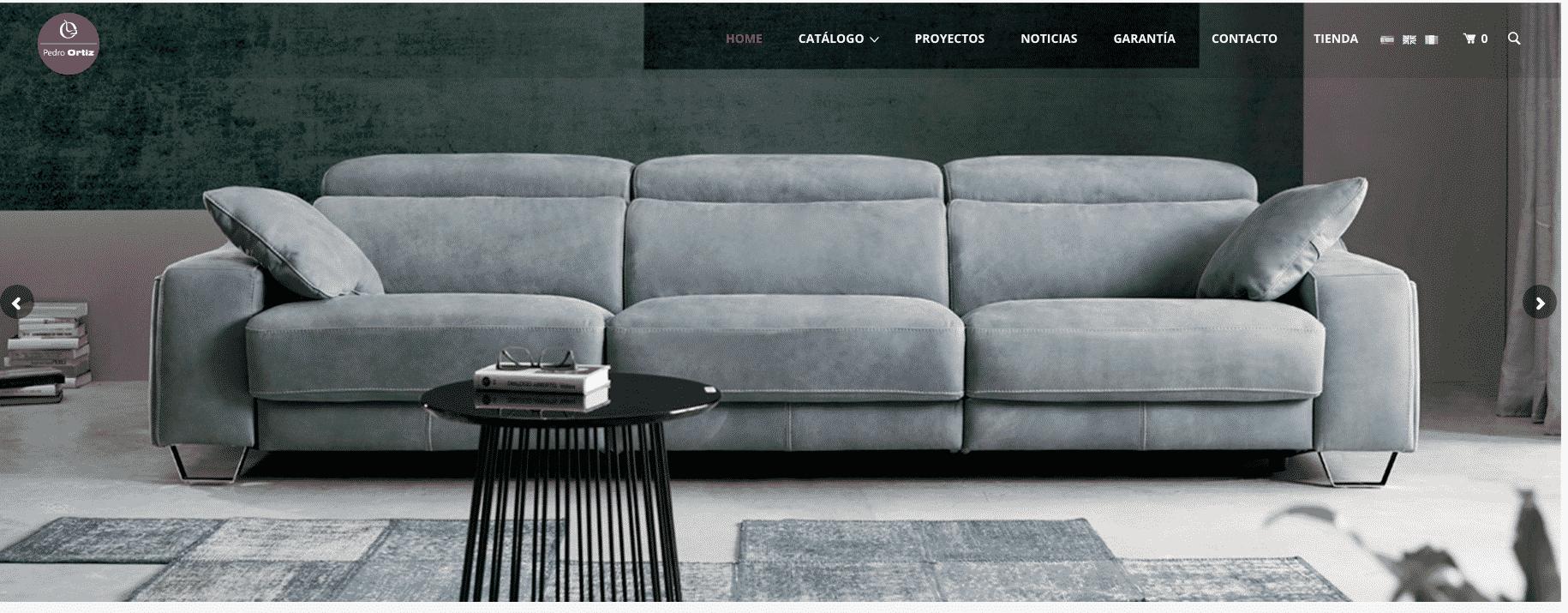 Test pedro ortiz for Los mejores sofas de espana
